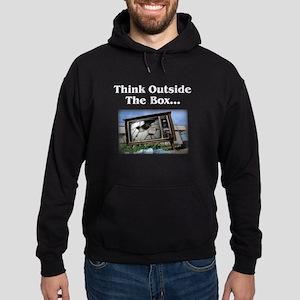 Think Outside The Box - Hoodie (dark)