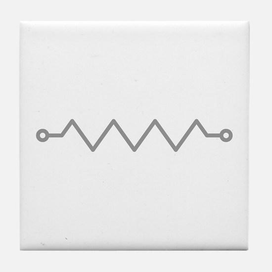 Resistor Tile Coaster