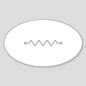 Resistor Sticker (Oval)