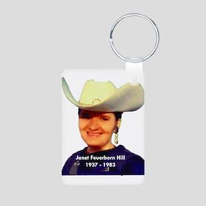 Janet Feuerborn Hill Aluminum Photo Keychain