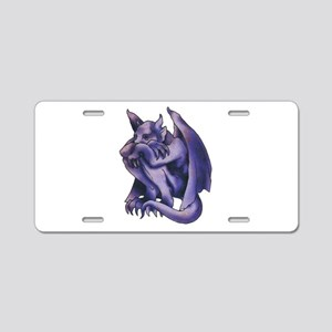 Gargoyle Tattoo Aluminum License Plate