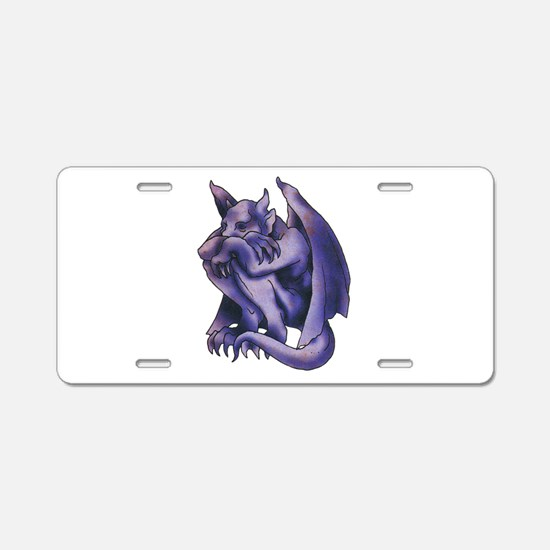 Gargoyle Tattoo Aluminum License Plate