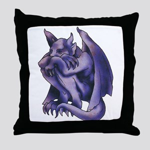 Gargoyle Tattoo Throw Pillow