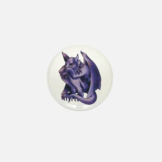 Gargoyle Tattoo Mini Button