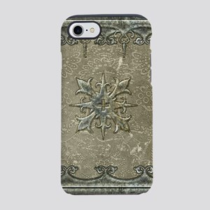 Decorative, elegant design with cross iPhone 7 Tou
