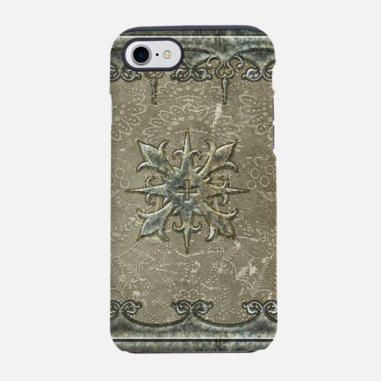 Decorative, elegant design with cross iPhone 7 Tou