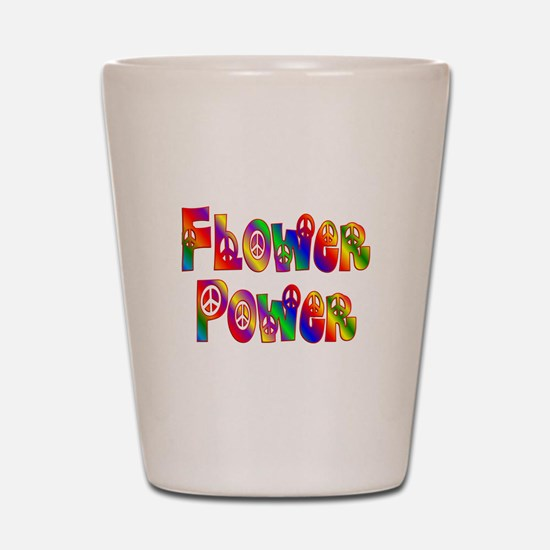 FLOWER POWER Shot Glass