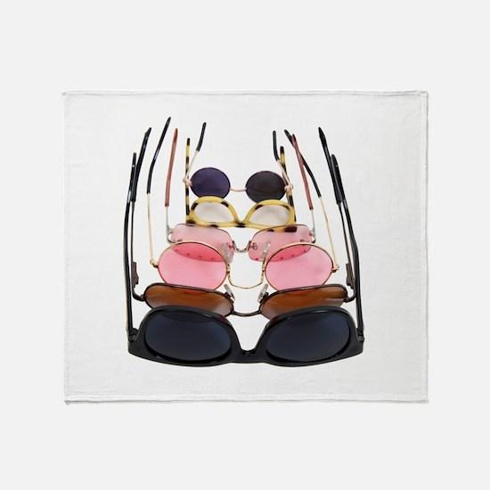 DiversityGlasses071009.png Throw Blanket