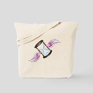 Time Flies Tattoo Tote Bag