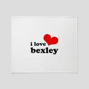 i love bexley Throw Blanket