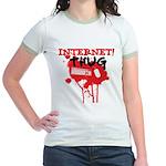 Internet Thug 2.0 Jr. Ringer T-Shirt