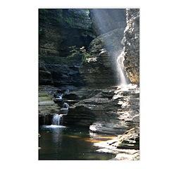 Upper falls at Wakins Glen - Postcards (Package o