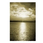 Sunset over Puget Sound - Postcards (Package of 8