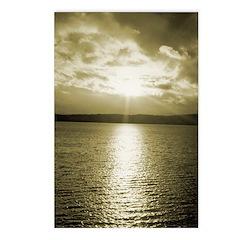 Sunset over Puget Sound - Postcards (Package of 8