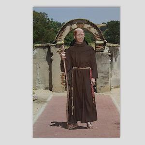 Padre Junipero Serra at Mission San Miguel - Post