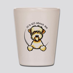 Funny Wheaten Terrier Shot Glass