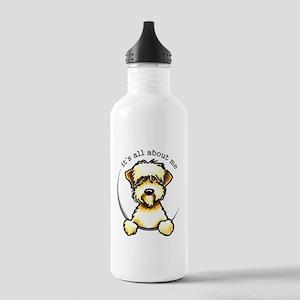 Funny Wheaten Terrier Stainless Water Bottle 1.0L