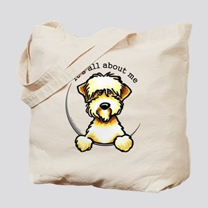 Funny Wheaten Terrier Tote Bag