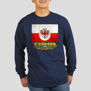 Tirol Long Sleeve Dark T-Shirt