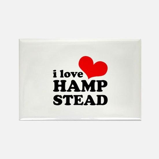 i love hampstead Rectangle Magnet