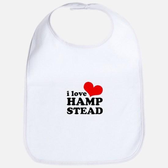 i love hampstead Bib