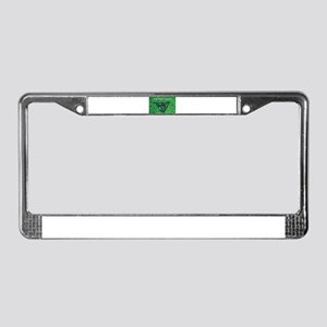 Went Fishing Nightly License Plate Frame
