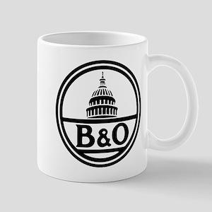 Baltimore and Ohio railroad Mugs