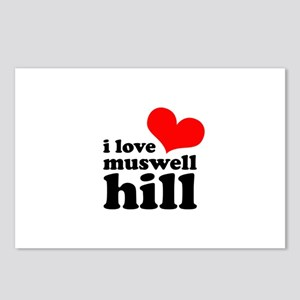 i love muswell hill Postcards (Package of 8)
