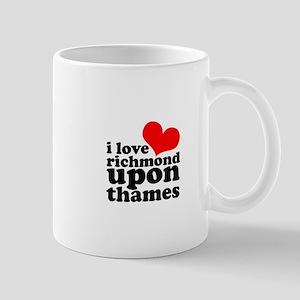 i love richmond upon thames Mug