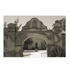 Mission San Miguel - Postcards (Package of 8)