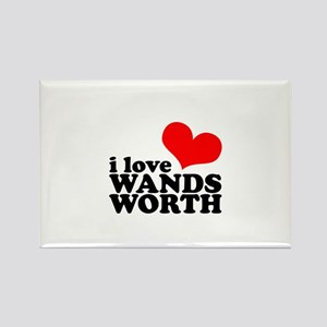 i love wandsworth Rectangle Magnet