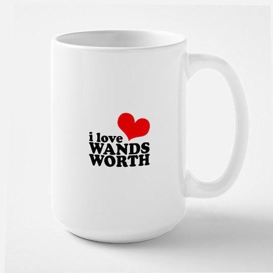 i love wandsworth Large Mug