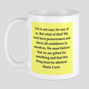 pierre and marie currie quote Mug