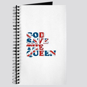 god save the queen (union jac Journal