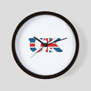 UK (union jack) Wall Clock