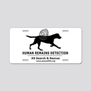 HRD Dog Aluminum License Plate
