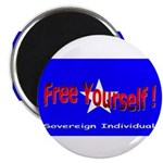Free Yourself Magnet