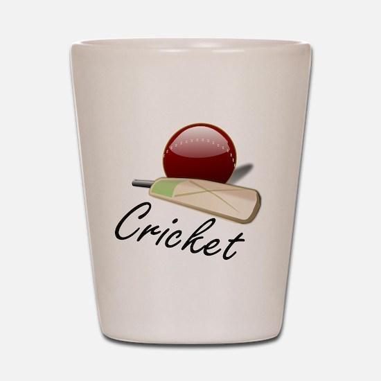 cricket Shot Glass