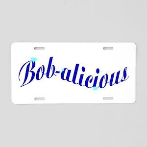 Bobalicious Aluminum License Plate