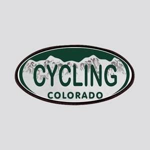 Cycling Colo License Plate Patches