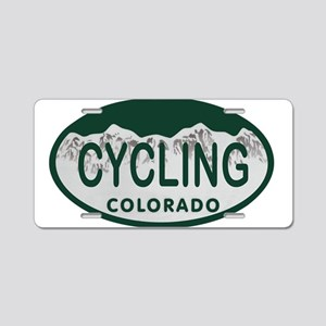 Cycling Colo License Plate Aluminum License Plate