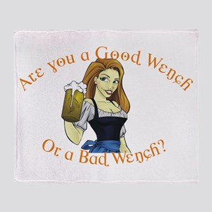 Good Wench Throw Blanket