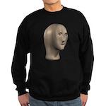 Stonks Head Sweatshirt