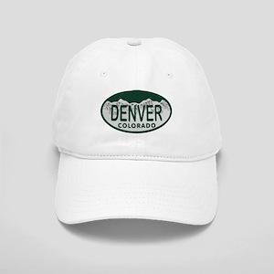 Denver Colo License Plate Cap