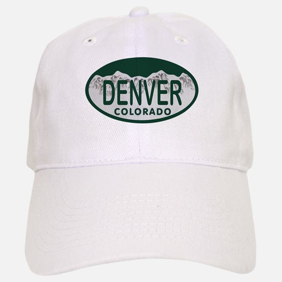 Denver Colo License Plate Baseball Baseball Cap