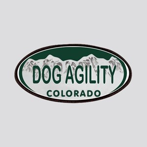 Dog Agility Colo License Plate Patches