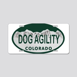 Dog Agility Colo License Plate Aluminum License Pl