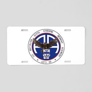 1st / 325th AIR Aluminum License Plate