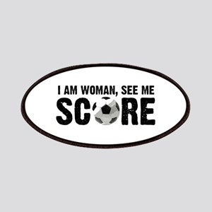 See Me Score Soccer Patches
