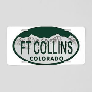 Ft Collins Colo License Plate Aluminum License Pla